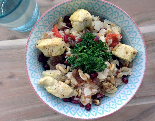 lunch, recept, couscous