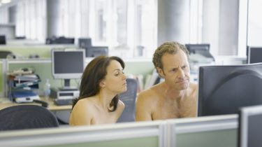 working naked day, naakt, thuiswerken