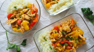 meal prep monday lunch recept